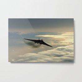 101 Squadron Vulcan Bomber Metal Print