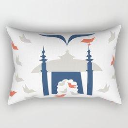 Gathering Birds (Home) Rectangular Pillow