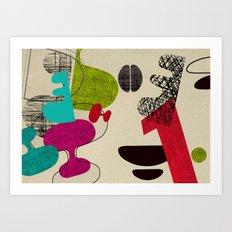 Sub Atomic Lounge No1 Art Print