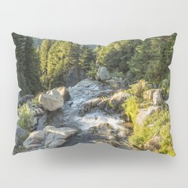 Top of the Morning at the Top of Myrtle Falls Pillow Sham