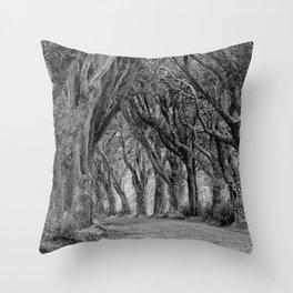 The Trees, Norfolk Throw Pillow