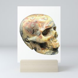 Crazy Lace Skull Mini Art Print
