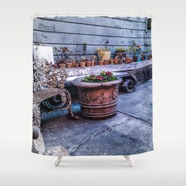 Hayes Valley Flower Garden  Shower Curtain