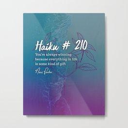 Neici Parker Haiku - 210 Metal Print