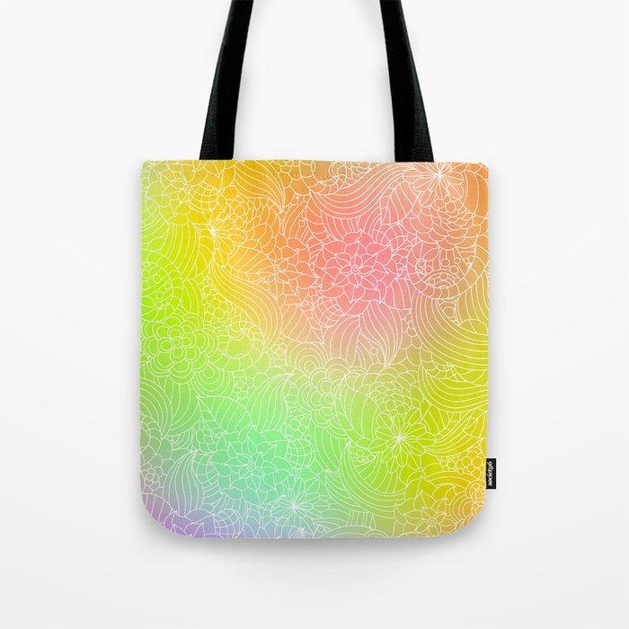 Romantic floral fantasy Tote Bag