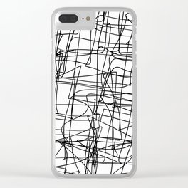 Mind Map Clear iPhone Case