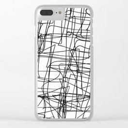Mind Map Clear iPhone Case