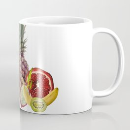 fresh Fruits summer Selection - white Coffee Mug