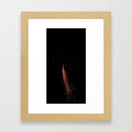 Bright Night Lights 5 Framed Art Print