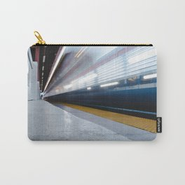 Trying To Catch Train Early Carry-All Pouch
