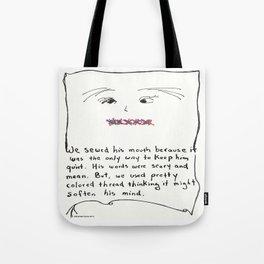 Pretty Thread for Bullies Tote Bag
