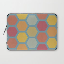 Colorful Hexagons Laptop Sleeve