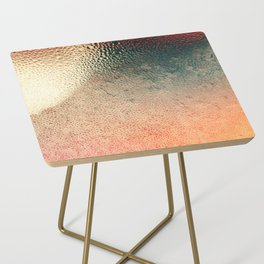 Ice Shield Side Table