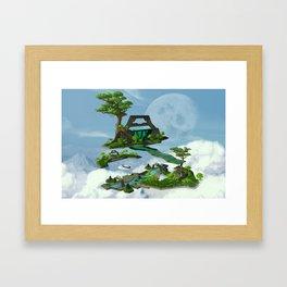 Sanctuary of Solitude Framed Art Print