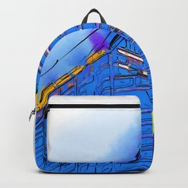Abstract Arch Backpack