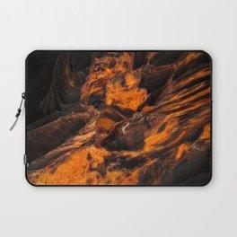 Obsidian Rock - Lava Flow Laptop Sleeve