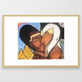 Long Ass Love Story Framed Art Print