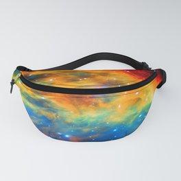 Rainbow Medusa Nebula Fanny Pack