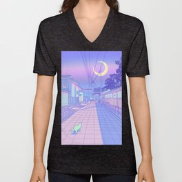 Kyoto Nights Unisex V-Neck