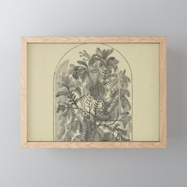 Dome Terrarium Framed Mini Art Print