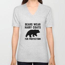 Fur Protection Unisex V-Neck