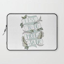 More Ta-Da - Mint Laptop Sleeve