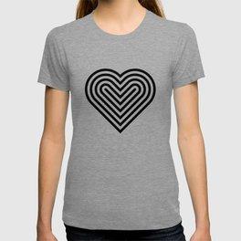 Pop art heart T-shirt