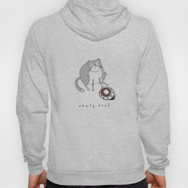 Cat-Empty Bowl Hoody