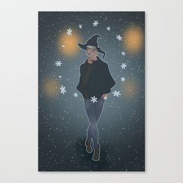 A Sea Witch's Blessed Yule Canvas Print