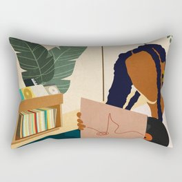 Stay Home No. 4 Rectangular Pillow