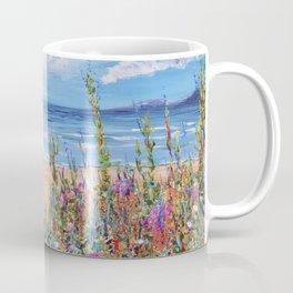 Summer Beach, Impressionism Seascape Coffee Mug