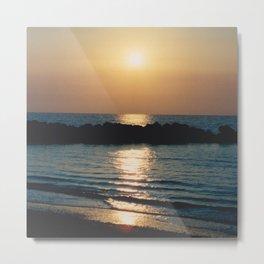 Sunset Ocean Bliss #6 #nature #art #society6 Metal Print