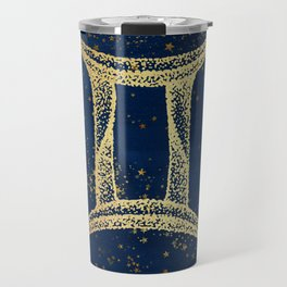 Gemini Zodiac Sign Travel Mug