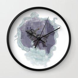 Night Heist Wall Clock