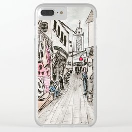 Fes Souk Clear iPhone Case