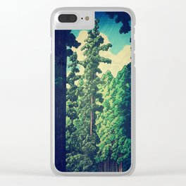 Under the cover of Yanakaden Clear iPhone Case