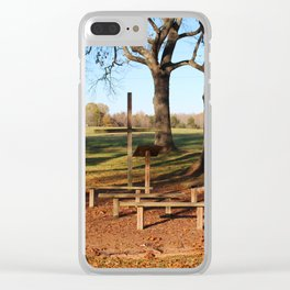 Country Worship Clear iPhone Case