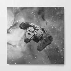 Millennium Falcon Metal Print