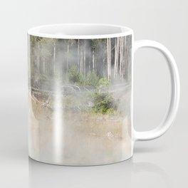 Buffalo at Thermal Pool Coffee Mug