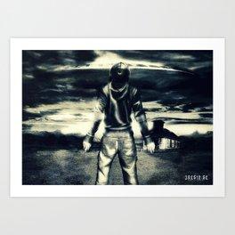 Poster - Encounter Art Print