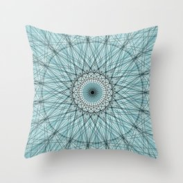Scared Geometry Abstract Art c13951 Throw Pillow