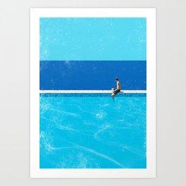 Pool 6 Art Print