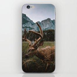 Deer in Yosemite Valley iPhone Skin
