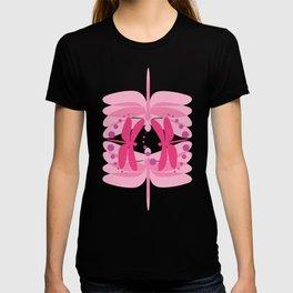 dragonfly pattern 2 T-shirt