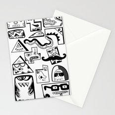 Little Musket Monsters Stationery Cards