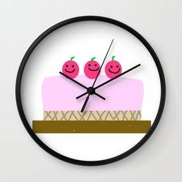 Sweet cake Wall Clock