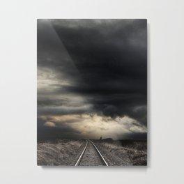 Kilcoole Railway, Co. Wicklow, Ireland Metal Print