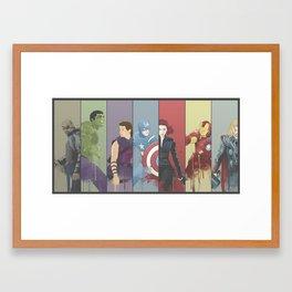 Team Awesome Framed Art Print