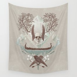 Ghosts of Scandinavia. Iceland. Wall Tapestry