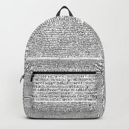 The Rosetta Stone Backpack